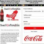 Ejemplo de votación y sorteo con códigos QR y web móvil: Campaña Coca-Cola