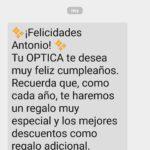 SMS para felicitar cumpleaños