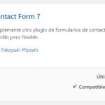 Instalar Plugin Contact Form 7