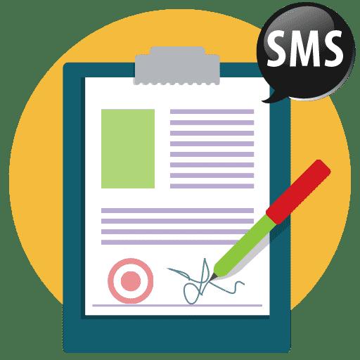 Firma contrato por sms
